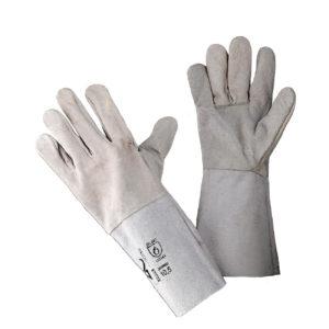 Перчатки/краги кожаные